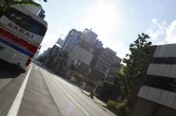 札幌の路地